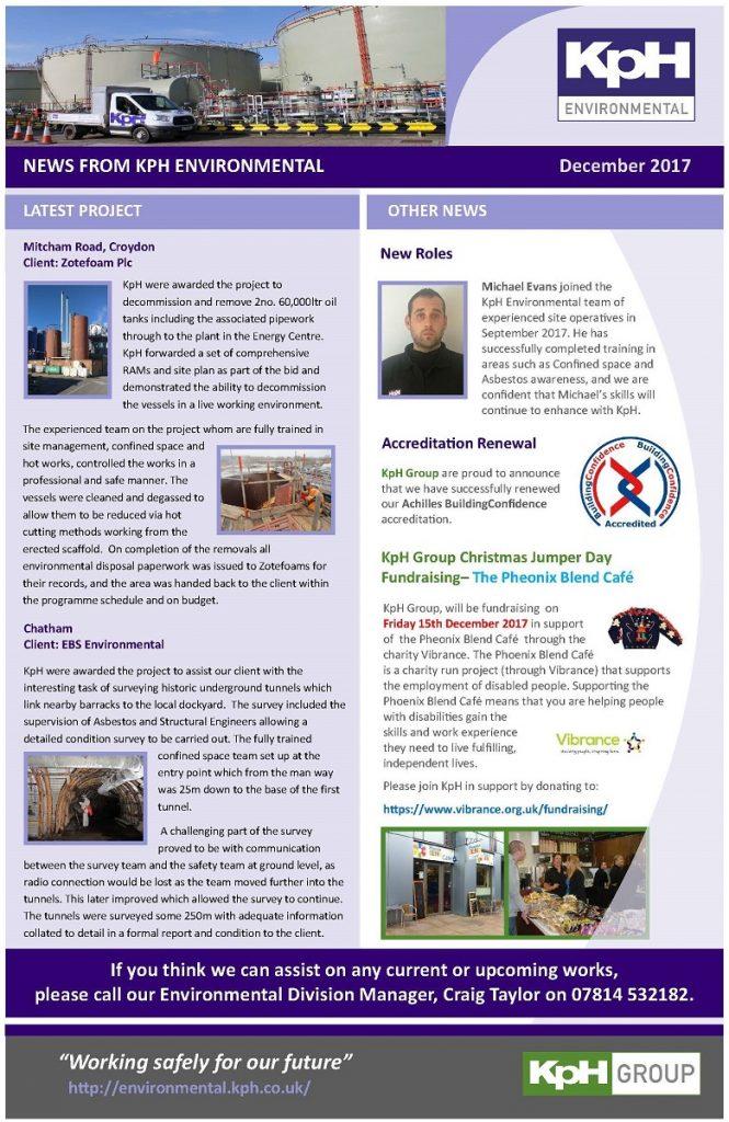 Newsletter Kph Group